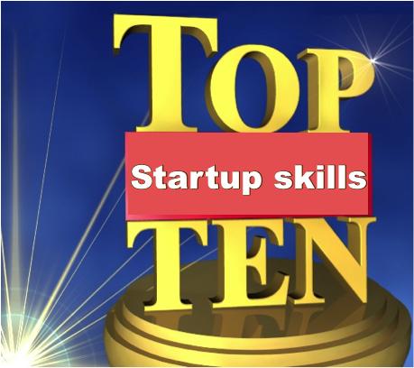 Top 10 skills of successful entrepreneurs